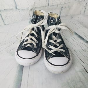 Converse All Star| Kids Black High Tops